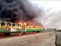 Pakistan'da yolcu treninde tüp patladı: 65 kişi öldü