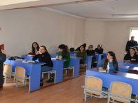 Hakkari İŞ-KUR Müdürü Kızılkaya kursları ziyaret etti