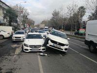 Bakırköy'de ilginç kaza