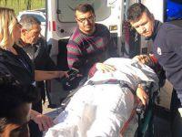 Selahattin Demirtaş'ın anne ve babasının da içinde bulunduğu araç kaza yaptı