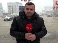 Hakkari'de kar ve sis etkili oldu