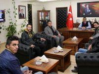 İYİ Parti'den Hakkari İl Emniyet Müdürüne hayırlı olsun ziyareti