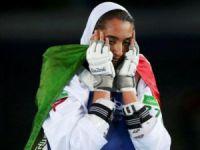 İranlı kadın atleti ülkesini terk etti