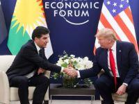 Trump, Salih ve Barzani ile görüştü
