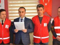 Hakkari Kızılayı Elazığ ve Malatya için yardım kampanyası başlattı