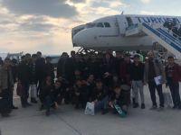 İstanbul turuna çıkan Hakkarili öğrenciler döndü!