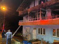 Evde çıkan yangında babaanne ile 2 torunu hayatını kaybetti