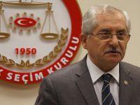 YSK Başkanı, seçim sonuçları için saat verdi