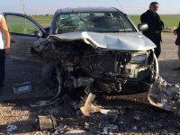 Nusaybin'de trafik kazası: 6 yaralı