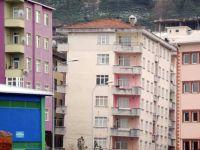 Rize İnşaat Mühendisleri Odası, yan yatan binaların risk oluşturduğunu açıkladı