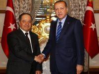 Barzani: Erdoğan'la her şeyi konuştuk