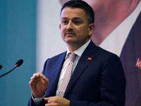 Bakan Pakdemirli: 2 bin 745 projeye, 970 milyon lira destek sağlanacak
