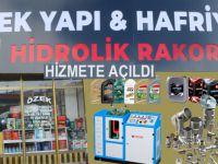 Hakkari'de Özek Hidrolik rakor hizmete açıldı