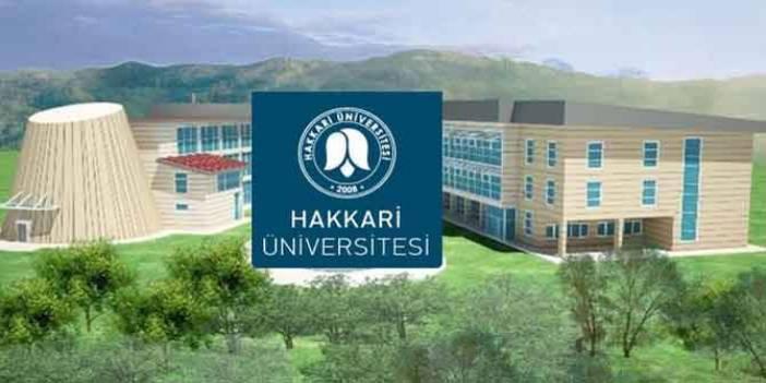 Hakkari Üniversitesinin koronavirüs tedbirleri