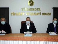 Yüksekova'daki STK'lardan korona virüsüne karşı kampanya