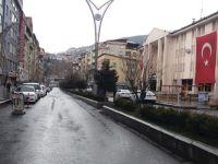 Hakkari sokakları korona salgını nedeniyle ıssız kaldı