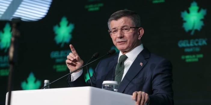 Davutoğlu'ndan 'uyarı': Yakında Erdoğan da tasfiye edilecek