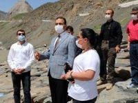 """Vali Akbıyık: """"Cilo Sat Dağlarını turizme açacağız"""""""