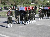 Hakkari'de 2 şehit için tören düzenlendi