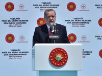Cumhurbaşkanı Erdoğan, Prof. Murat Dilmener Acil Durum Hastanesi'ni açtı