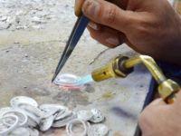 """Urartu gümüş sanatı """"savat"""" Van'da hala yaşatılmaya çalışılıyor"""