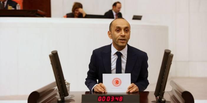 HDP'li Dede Hakkari'de yaşanan olayı meclise taşıdı