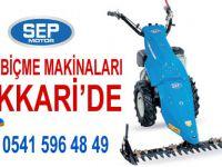 SEP Çayır biçme makinaları artık Hakkari'de!