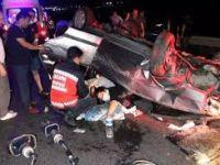 Feci kaza! 1 ölü, 4 yaralı