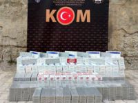 Hakkari'de 7 bin paket kaçak sigara ele geçirildi