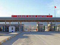 Habur Sınır Kapısı koronavirüs nedeniyle yeniden kapatıldı