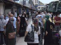 Otogarda bayram dönüşü hareketliliği başladı