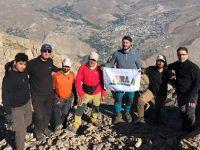 TEMA gönüllüleri Sümbül'de pankart açtı