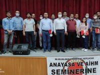 Hakkari'de avukatlara AYM ve AİHM semineri