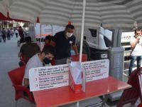 Kızılay Kan Aracı Hakkari'de