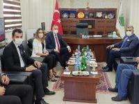 MHP grup başkan vekili Akçay'dan, HATSO'ya ziyaret