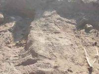 Diyarbakır surlarında üç insan iskeleti bulundu