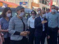 Leyla Güven Çukurca'yı ziyaret etti