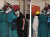 Ankara'da saldırıya uğrayan sağlık çalışanları kapıda barikat kurdu