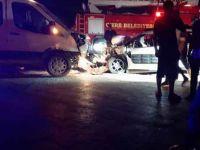 Cizre'de trafik kazası: 5 yaralı