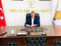AK Parti Derecik İlçe Başkanlığına Akgündüz getirildi