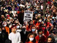 ABD'de gece yarısı protestoları