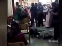 Maske uyarısı yapan sağlık çalışanına saldırı