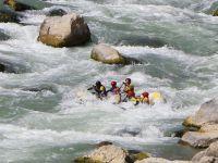 Zap vadisinde Rafting heyecanı