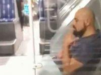 Maskesiz yolcu metrobüste sigara içti