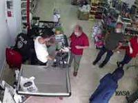 Karantina kaçağı markette yakalandı
