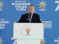 Cumhurbaşkanı Erdoğan Ak Parti Şırnak kongresinde konuştu