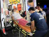 Kocası tarafından darp edilen kadın hastaneye kaldırıldı: Saldırgan gözaltında