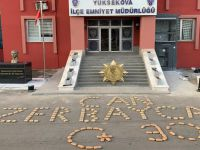 Hakkari'de Azerbaycana destek operasyonu