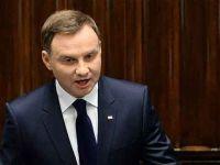Polonya Cumhurbaşkanı Duda'nın koronavirüs testi pozitif çıktı