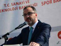 Bakan Kasapoğlu rafting yarışlarının startını verdi